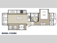 Floorplan - 2013 Palomino Columbus F320RS