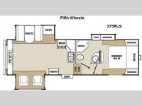 Floorplan - 2013 Coachmen RV Chaparral Lite 275RLS
