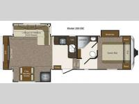 Floorplan - 2012 Keystone RV Laredo Super Lite 289SRE