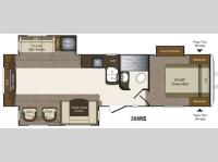 Floorplan - 2013 Keystone RV Laredo Super Lite 308RE