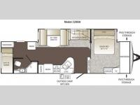 Floorplan - 2013 Keystone RV Outback 320BH