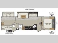 Floorplan - 2013 Keystone RV Passport 3220BHWE Grand Touring