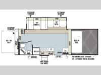 Floorplan - 2013 Forest River RV Flagstaff Shamrock 21SSL