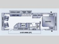 Floorplan - 2006 Jayco Jay Feather LGT 29N