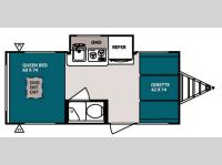 Floorplan - 2013 Forest River RV R Pod RP 177