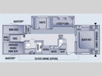 Floorplan - 2006 Jayco Jay Flight 31BHS
