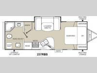 Floorplan - 2013 Coachmen RV Freedom Express 237RBS