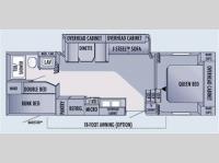 Floorplan - 2006 Jayco Jay Flight 27.5BHS