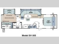 Floorplan - 2012 Forest River RV Surveyor Select SV-305