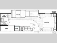 Floorplan - 2006 Forest River RV Cherokee 28A