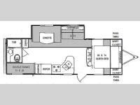 Floorplan - 2013 Prime Time Manufacturing Tracer 2670BHS