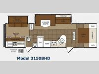 Floorplan - 2013 Prime Time Manufacturing Tracer 3150BHD
