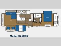 Floorplan - 2013 Prime Time Manufacturing Crusader 325RES