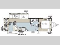 Floorplan - 2013 Forest River RV Rockwood Ultra Lite 2904SS