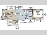 Floorplan - 2013 Forest River RV Rockwood Signature Ultra Lite 8289WS
