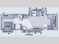 Floorplan - 2006 Jayco Seneca HD 35GS