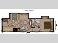 Floorplan - 2013 Keystone RV Sprinter Copper Canyon 275FWBHS