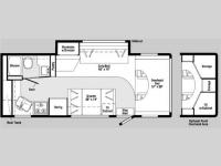 Floorplan - 2006 Winnebago Outlook 25F