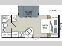 Floorplan - 2013 Dutchmen RV Aerolite 212RBSL