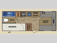 Floorplan - 2013 Travel Lite  idea i17