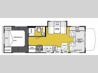 Floorplan - 2013 Forest River RV Sunseeker 2650S Ford
