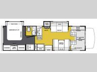 Floorplan - 2013 Forest River RV Sunseeker 2860DS Ford