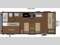 Floorplan - 2013 Keystone RV Summerland 1890FL