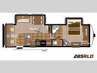 Floorplan - 2013 Keystone RV Mountaineer 285RLD