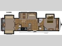 Floorplan - 2013 Keystone RV Mountaineer 345DBQ