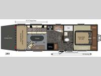 Floorplan - 2013 Keystone RV Fuzion 260