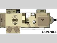 Floorplan - 2013 Open Range RV Light LF297RLS