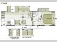 Floorplan - 2013 Starcraft  Travel Star 275RKS