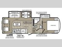 Floorplan - 2013 Forest River RV Wildcat extraLite 272RLX