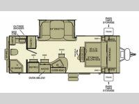 Floorplan - 2013 EverGreen RV i-Go G220RB