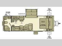 Floorplan - 2013 EverGreen RV i-Go G249RB