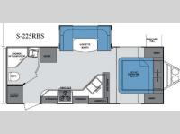 Floorplan - 2013 Cruiser Shadow S-225RBS