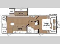 Floorplan - 2013 Dutchmen RV Aspen Trail 2390RKS