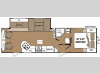 Floorplan - 2013 Dutchmen RV Aspen Trail 2910RLS