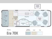 Floorplan - 2013 Winnebago Era 70X