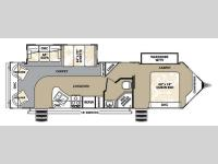 Floorplan - 2013 Forest River RV V-Cross Platinum 32VRLS