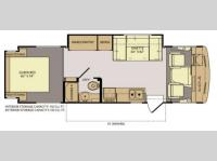 Floorplan - 2013 Fleetwood RV Storm 28F
