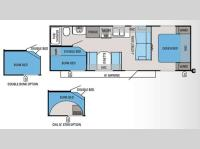 Floorplan - 2013 Jayco Jay Flight Swift 264BH