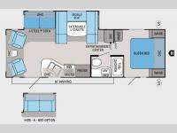 Floorplan - 2013 Jayco Jay Flight 26RLS