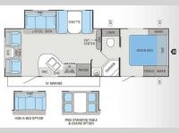Floorplan - 2013 Jayco White Hawk 27DSRL