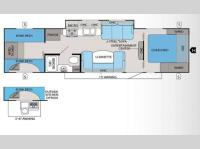 Floorplan - 2013 Jayco White Hawk 29SQB