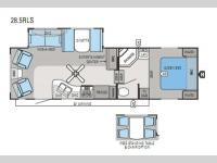 Floorplan - 2013 Jayco Eagle 28 5RLS