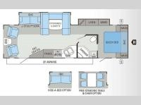 Floorplan - 2013 Jayco Eagle 298RLDS