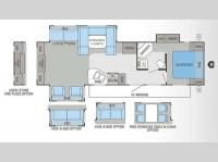 Floorplan - 2013 Jayco Eagle 308RETS