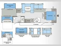Floorplan - 2013 Jayco Eagle 314BDS