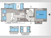 Floorplan - 2013 Jayco Eagle HT 26 5RLS